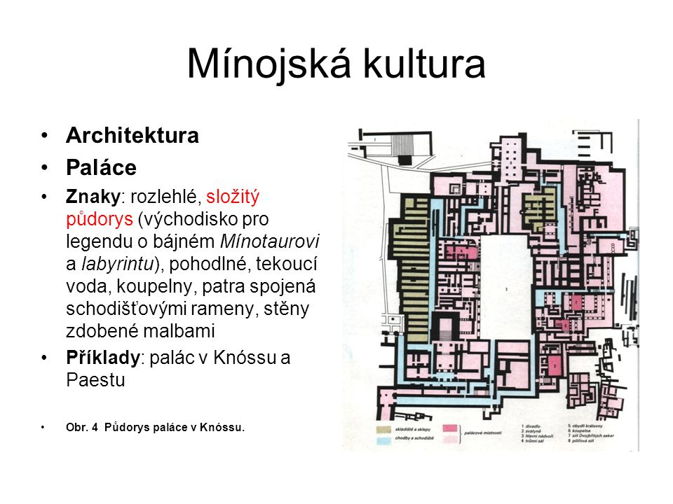 Mínojská kultura Architektura Paláce