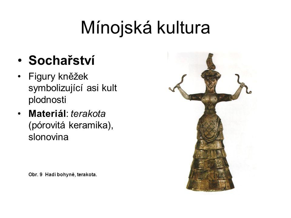 Mínojská kultura Sochařství