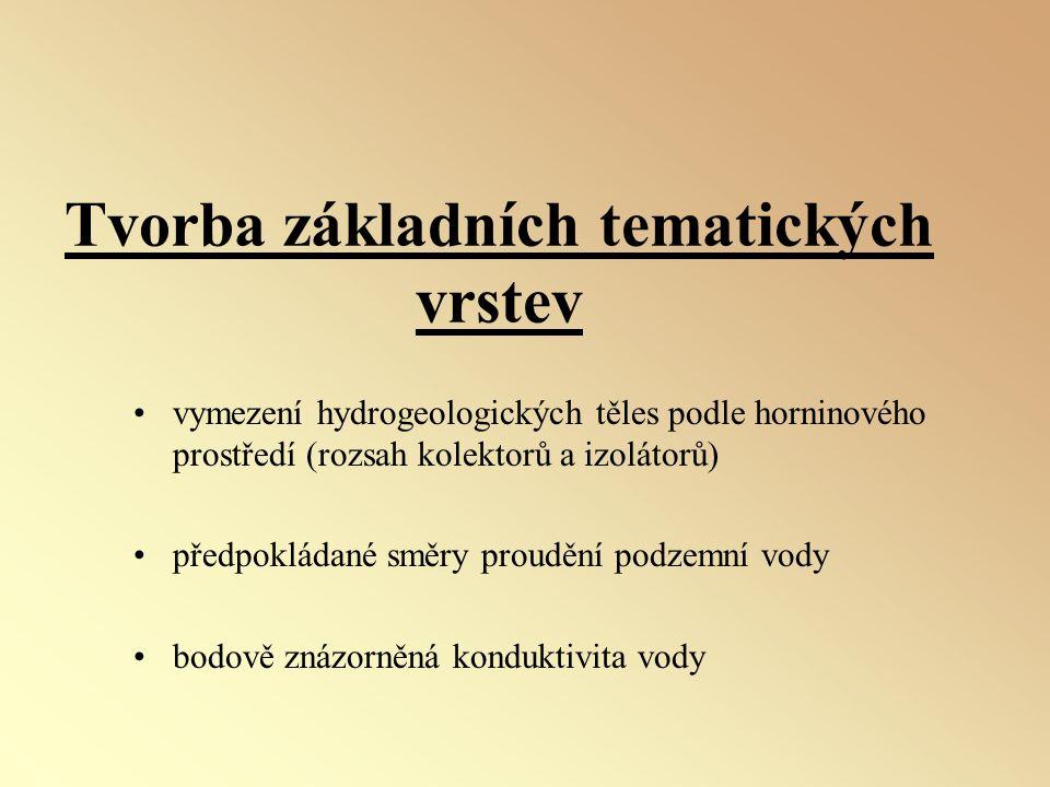 Tvorba základních tematických vrstev