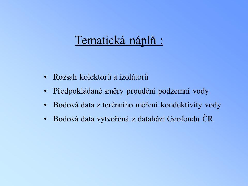 Tematická náplň : Rozsah kolektorů a izolátorů
