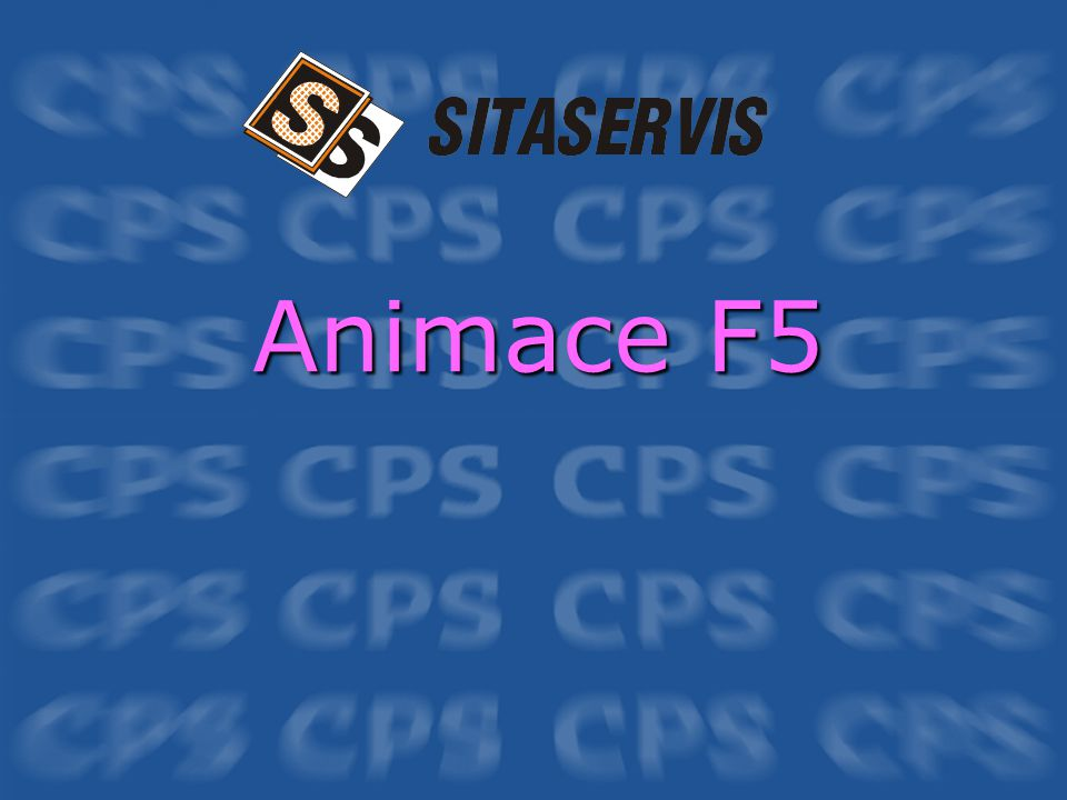 Animace F5
