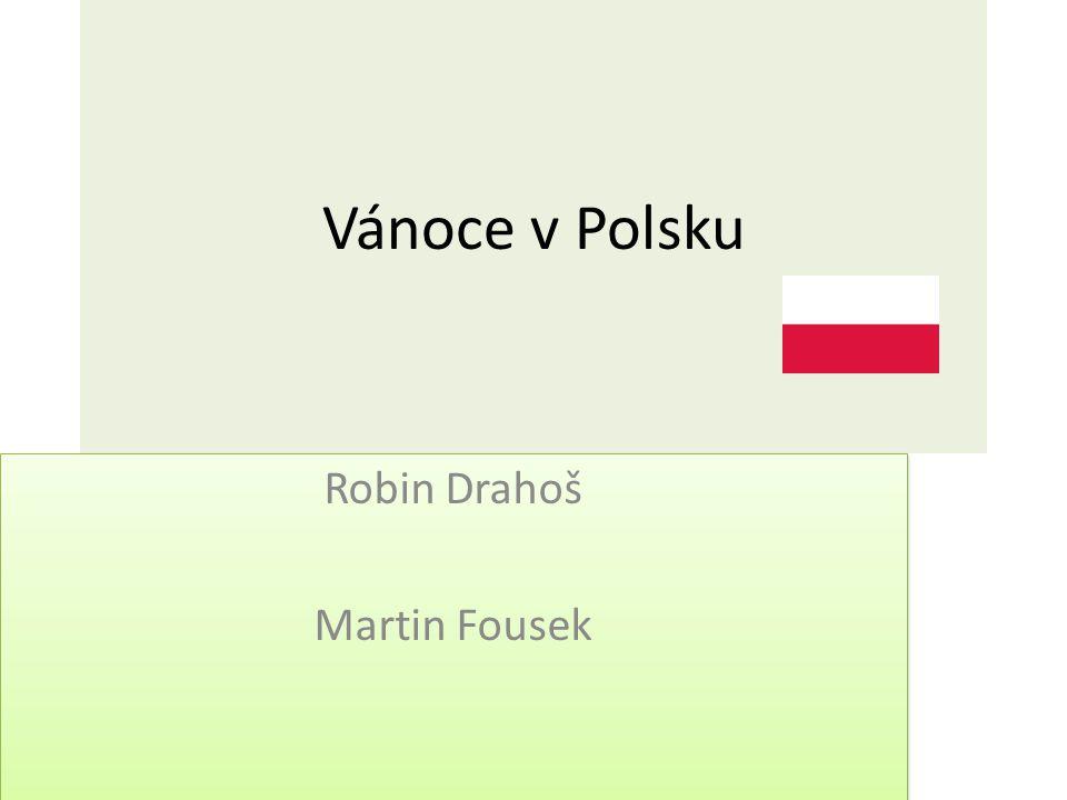 Robin Drahoš Martin Fousek