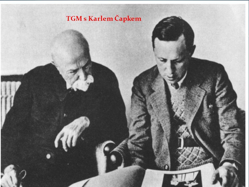 TGM s Karlem Čapkem
