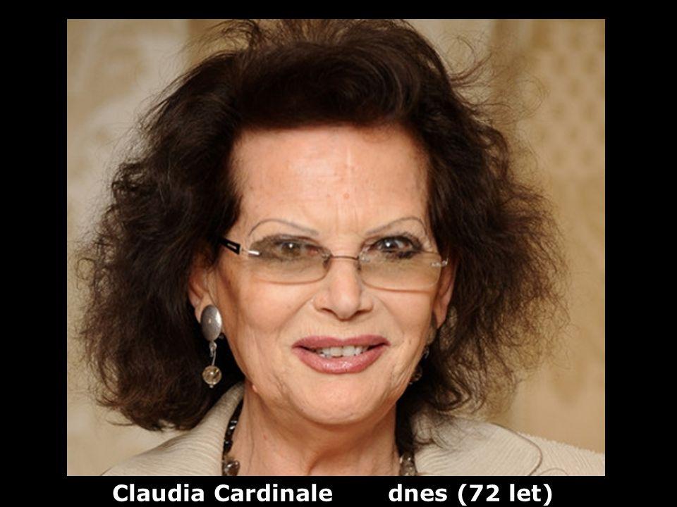 Claudia Cardinale dnes (72 let)