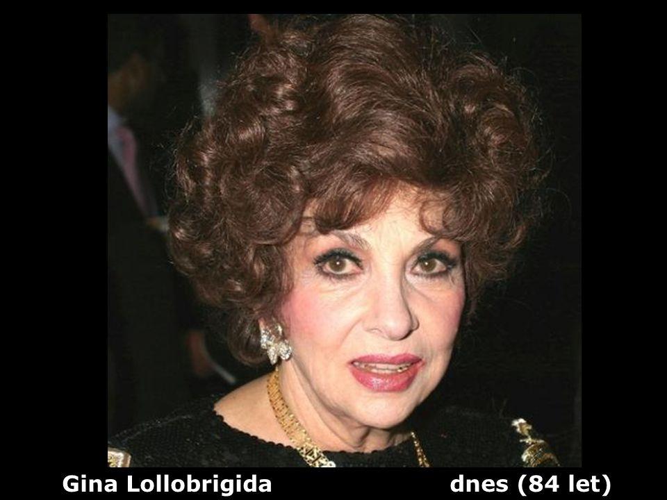Gina Lollobrigida dnes (84 let)