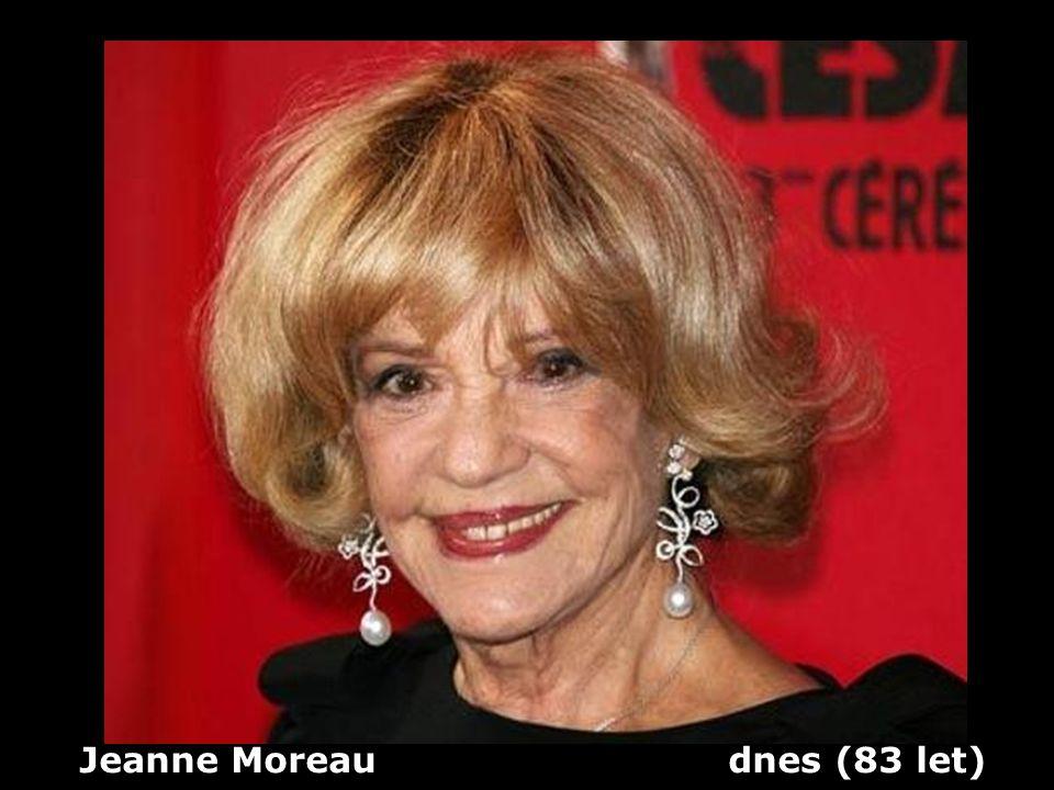Jeanne Moreau dnes (83 let)