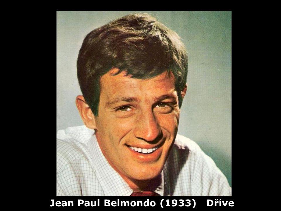 Jean Paul Belmondo (1933) Dříve
