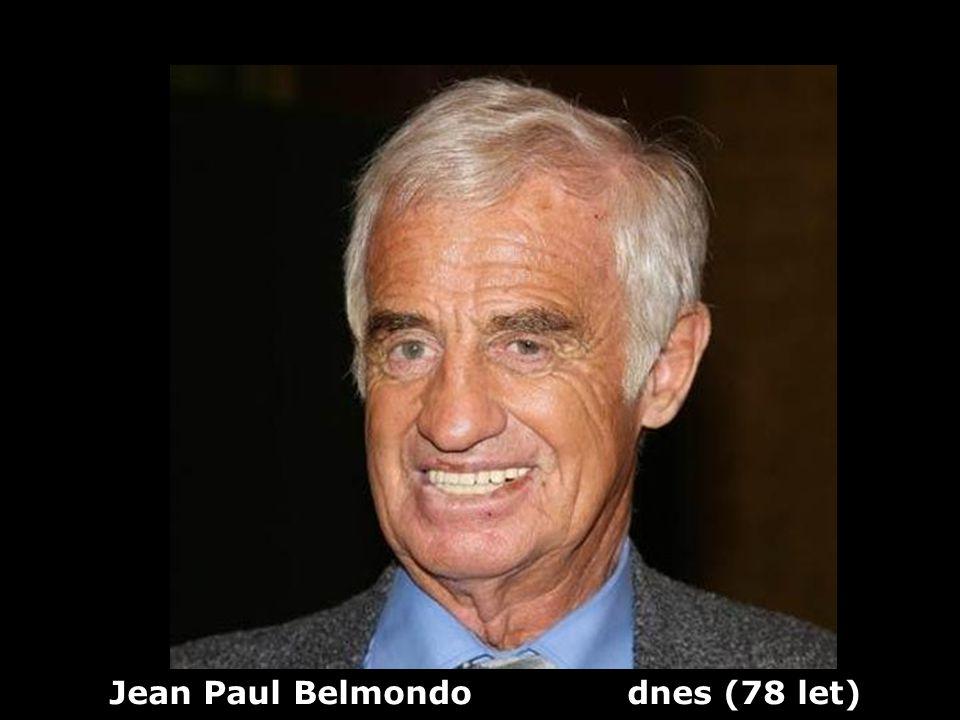 Jean Paul Belmondo dnes (78 let)