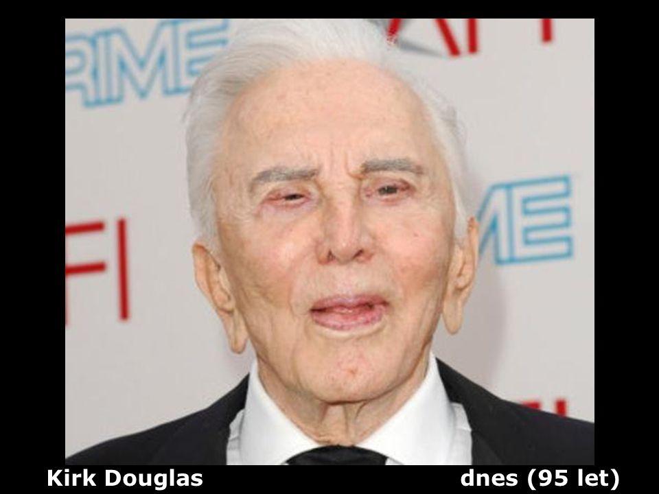 Kirk Douglas dnes (95 let)
