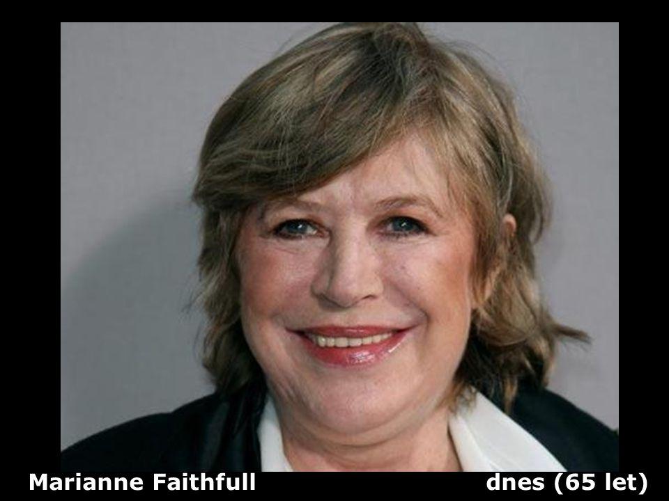 Marianne Faithfull dnes (65 let)