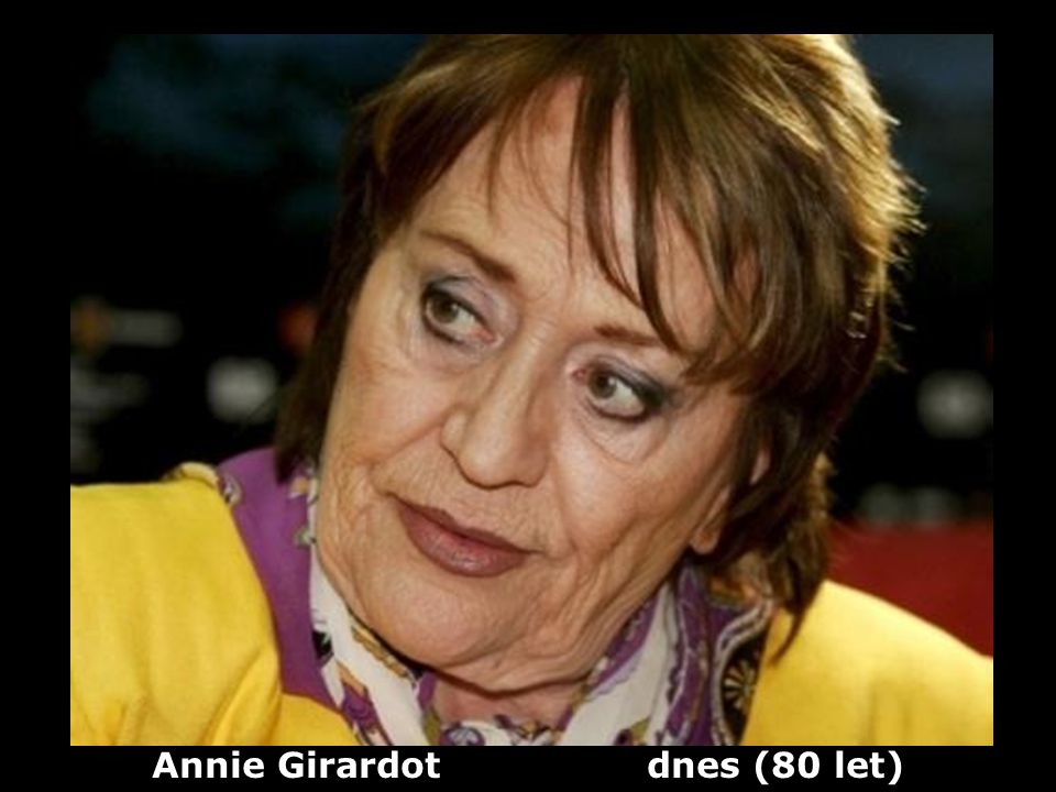 Annie Girardot dnes (80 let)