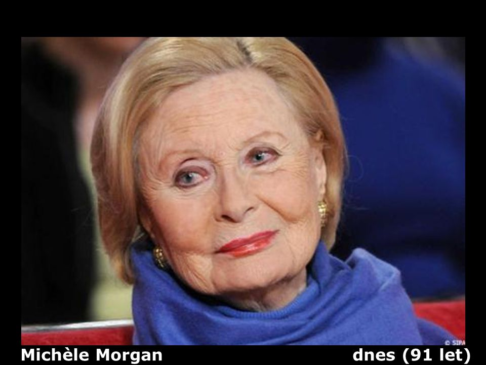 Michèle Morgan dnes (91 let)
