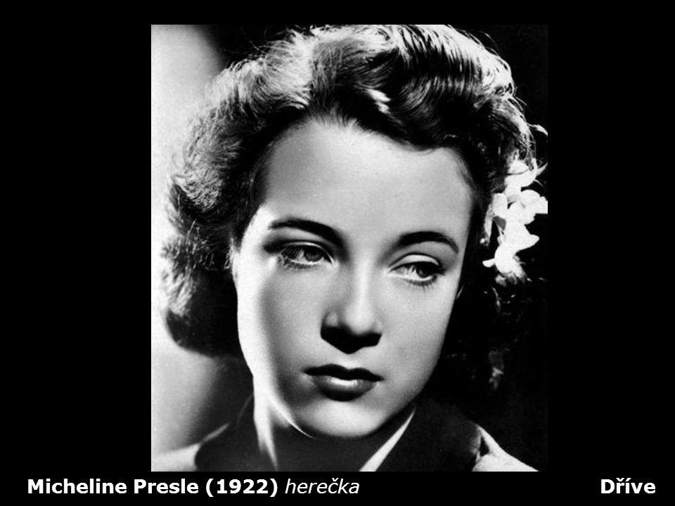 Micheline Presle (1922) herečka Dříve