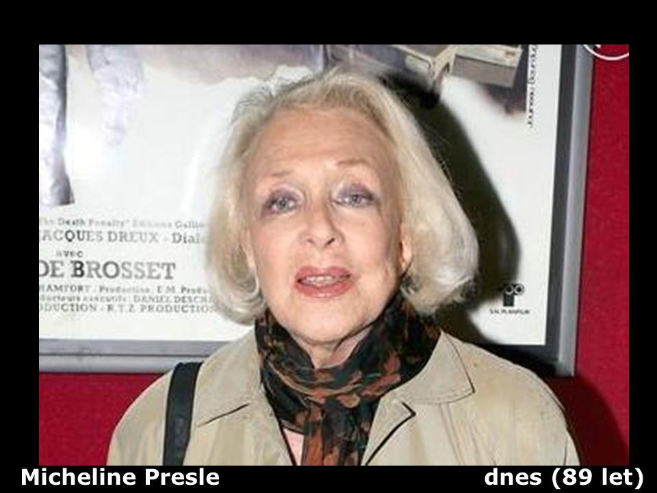 Micheline Presle dnes (89 let)