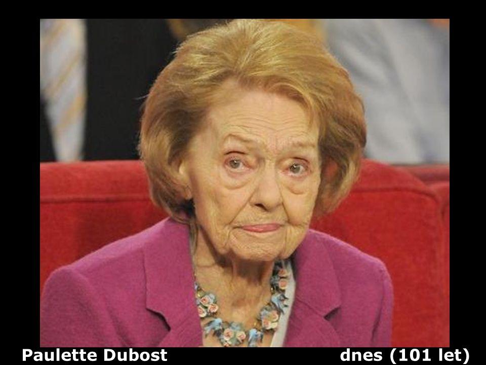 Paulette Dubost dnes (101 let)