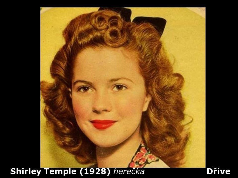 Shirley Temple (1928) herečka Dříve