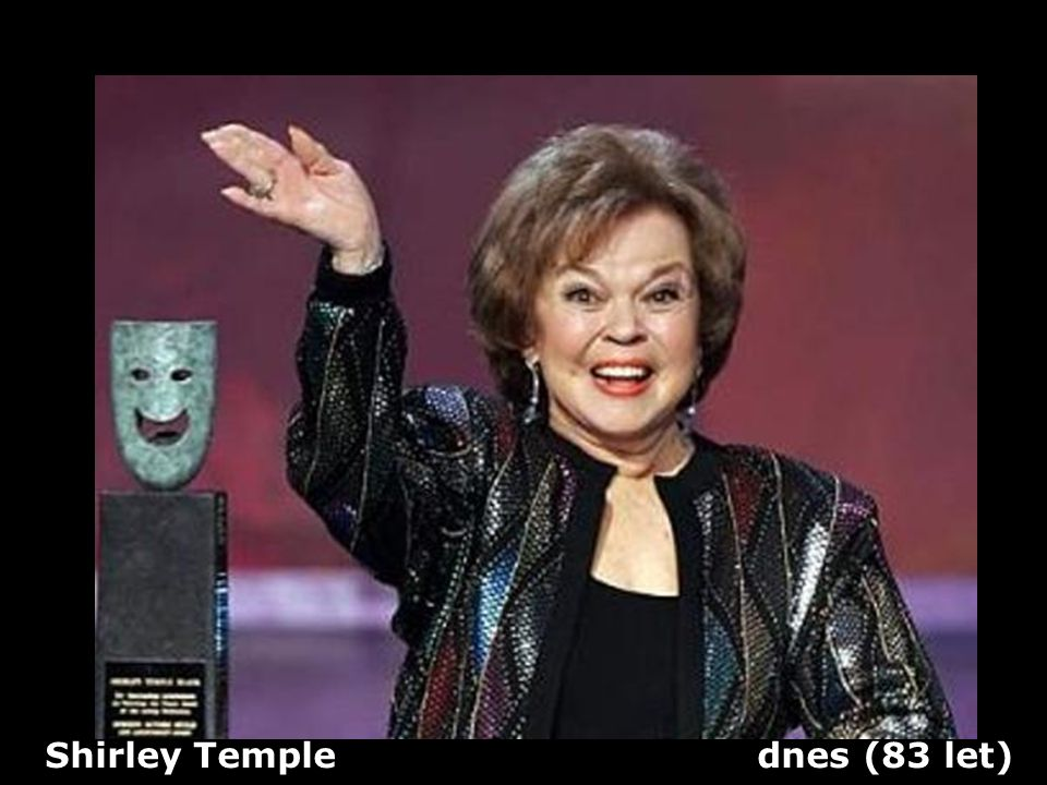 Shirley Temple dnes (83 let)