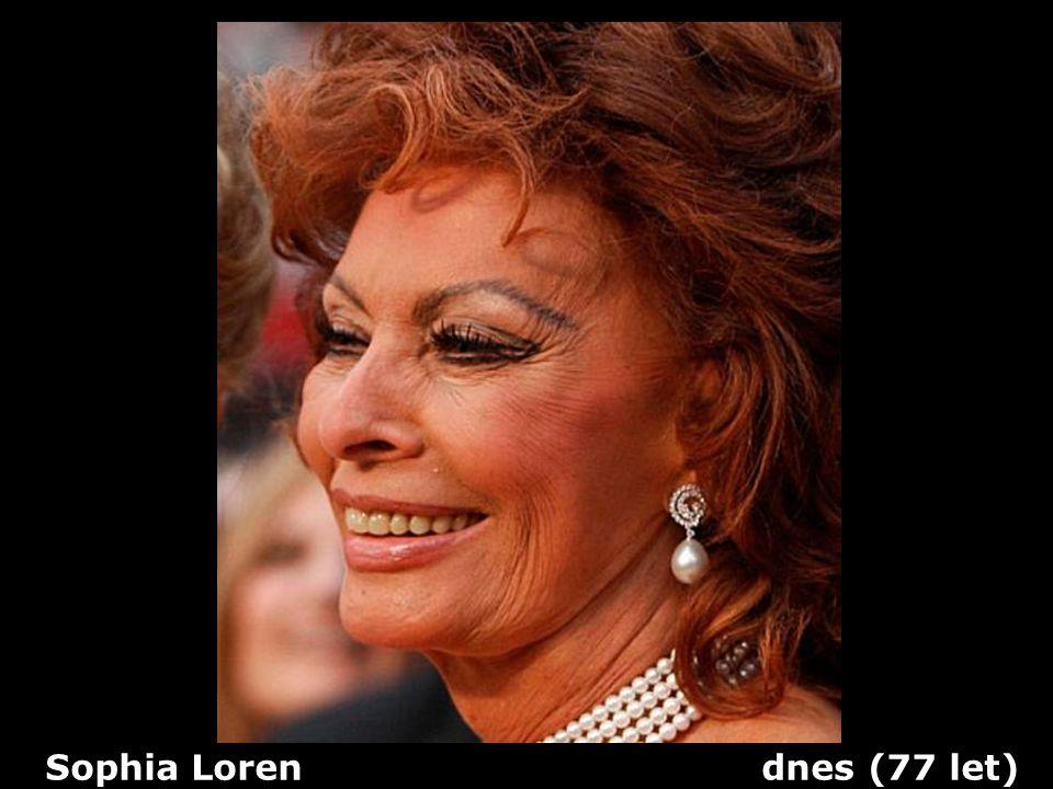Sophia Loren dnes (77 let)