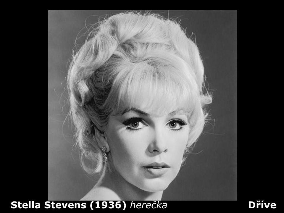 Stella Stevens (1936) herečka Dříve
