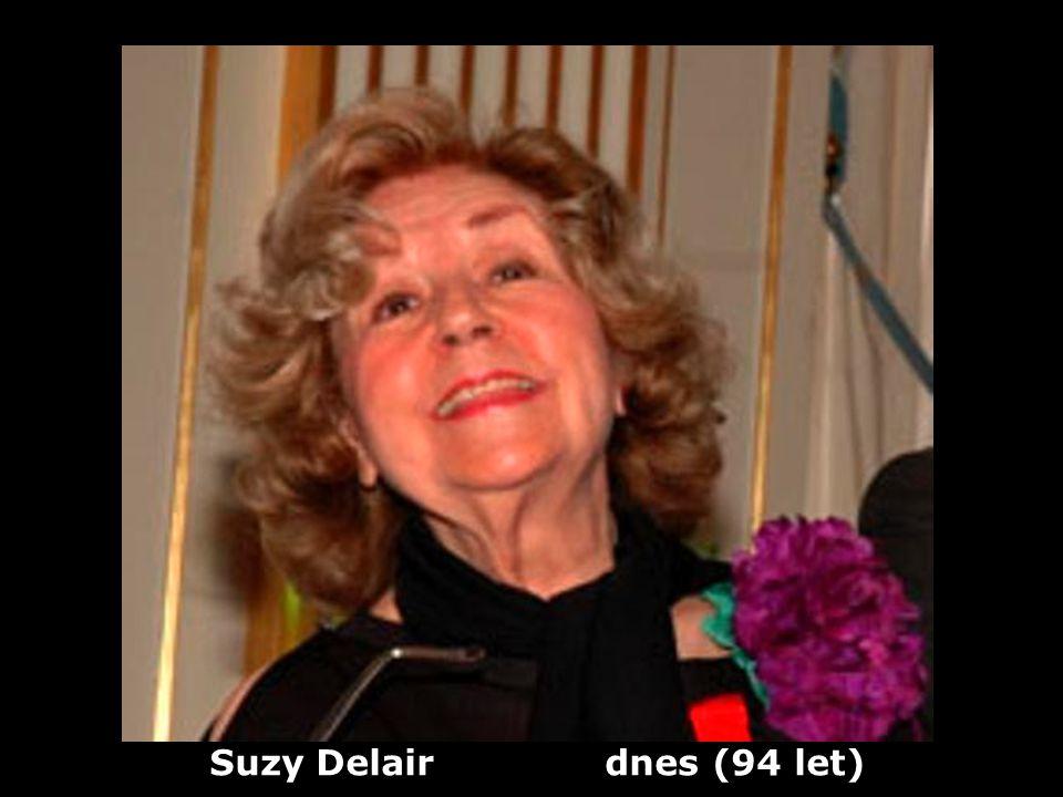 Suzy Delair dnes (94 let)