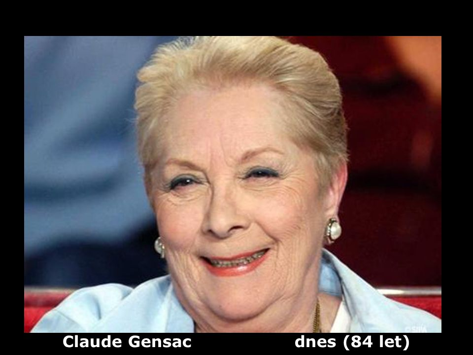 Claude Gensac dnes (84 let)