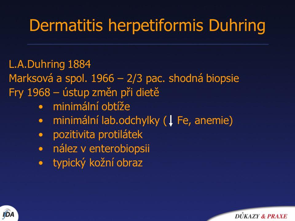 Dermatitis herpetiformis Duhring