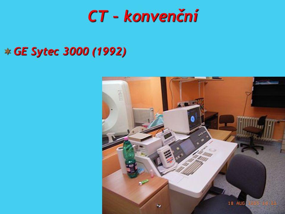 CT – konvenční GE Sytec 3000 (1992)