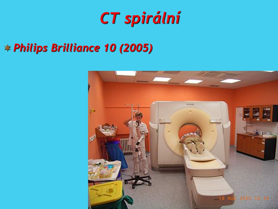 CT spirální Philips Brilliance 10 (2005)