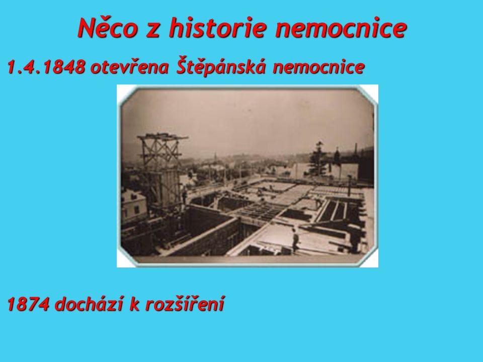 Něco z historie nemocnice