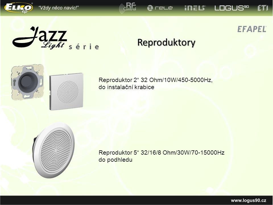 Reproduktory Reproduktor 2 32 Ohm/10W/450-5000Hz, do instalační krabice.