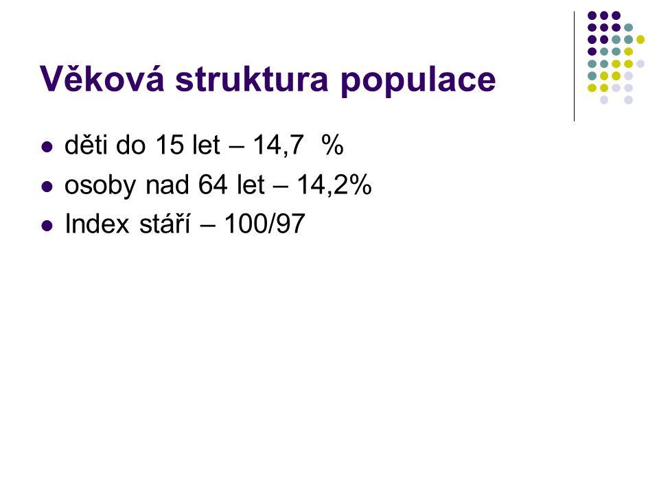 Věková struktura populace