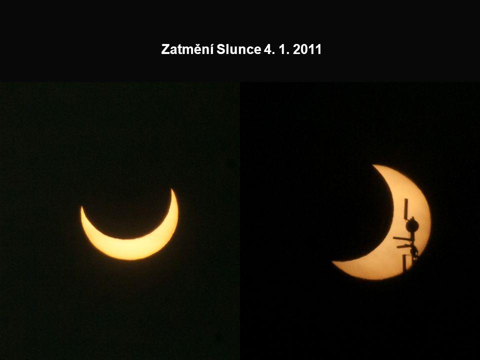 Zatmění Slunce 4. 1. 2011