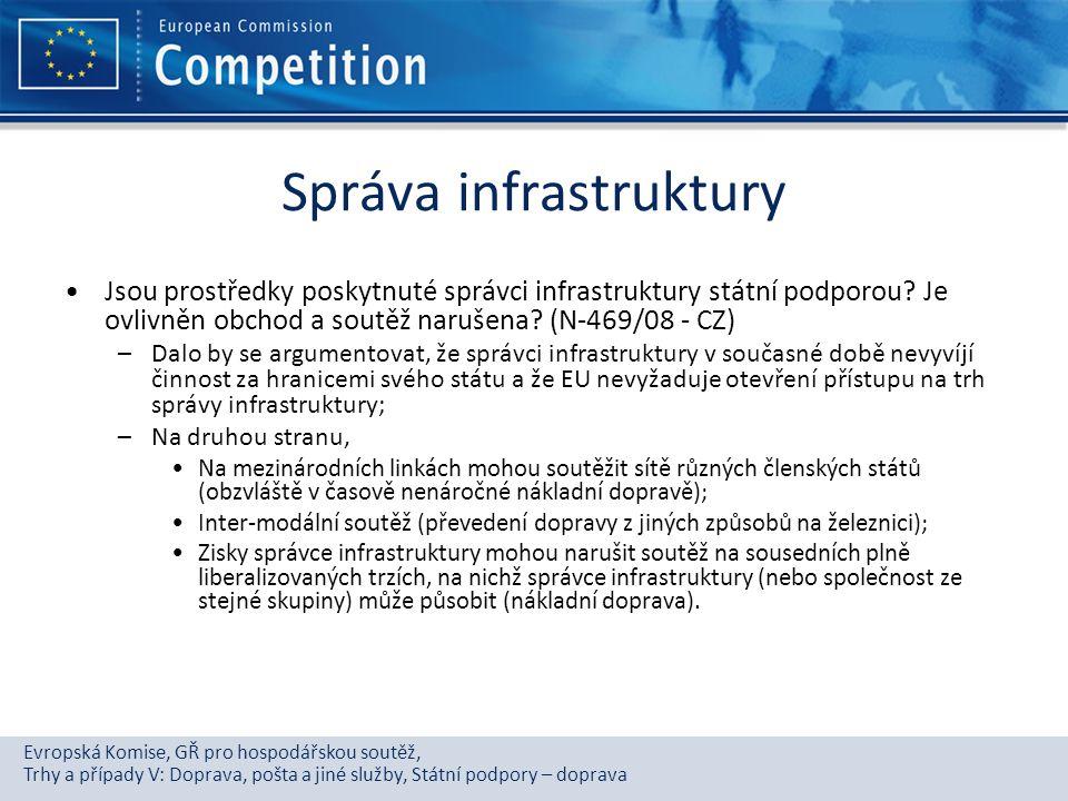 Správa infrastruktury