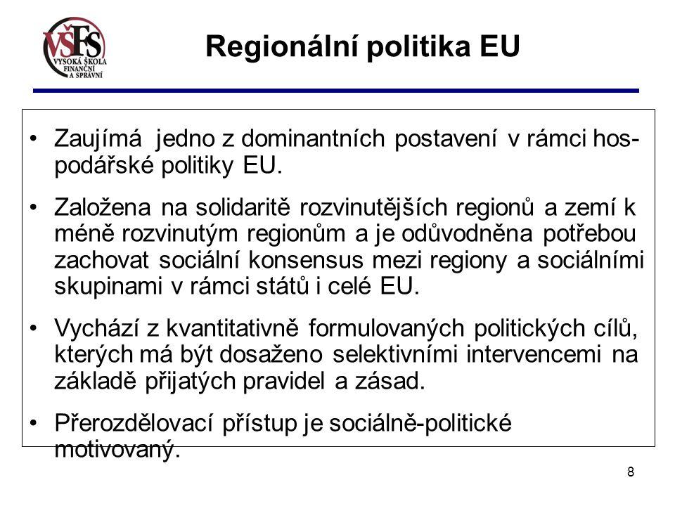 Regionální politika EU
