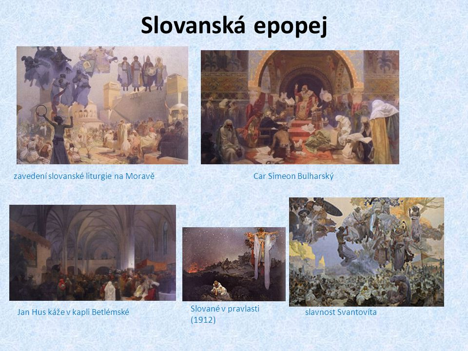 Slovanská epopej zavedení slovanské liturgie na Moravě