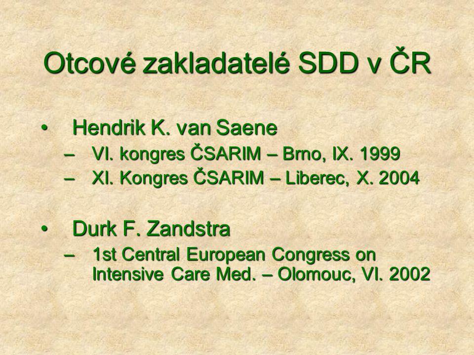 Otcové zakladatelé SDD v ČR