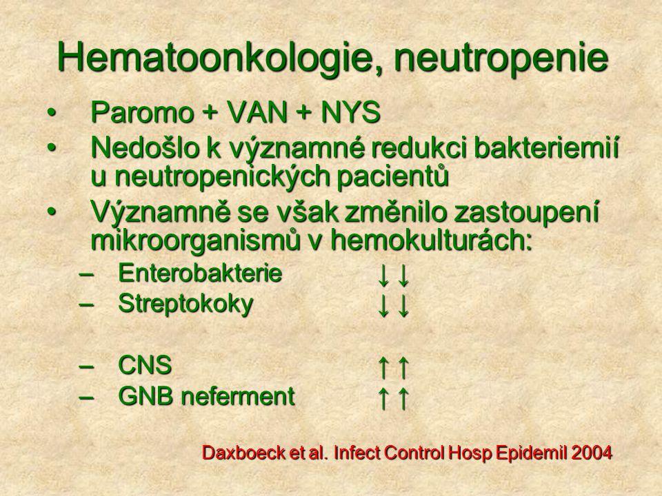 Hematoonkologie, neutropenie