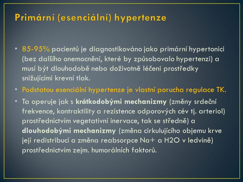 Primární (esenciální) hypertenze