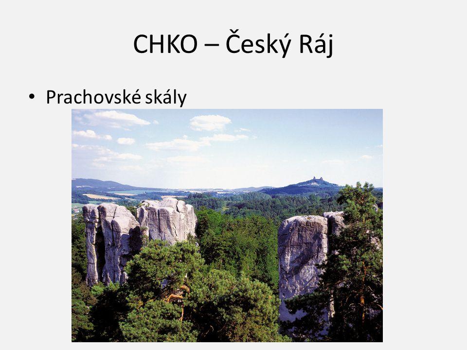 CHKO – Český Ráj Prachovské skály