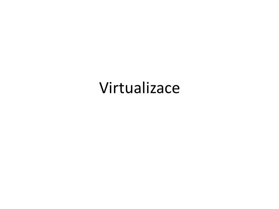 Virtualizace