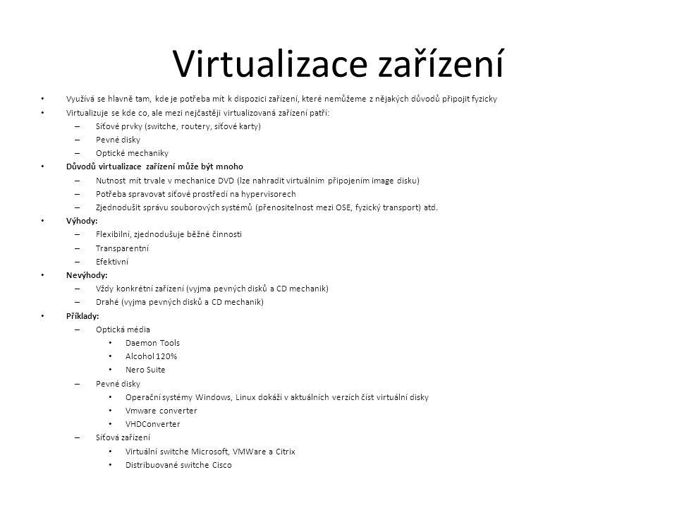 Virtualizace zařízení