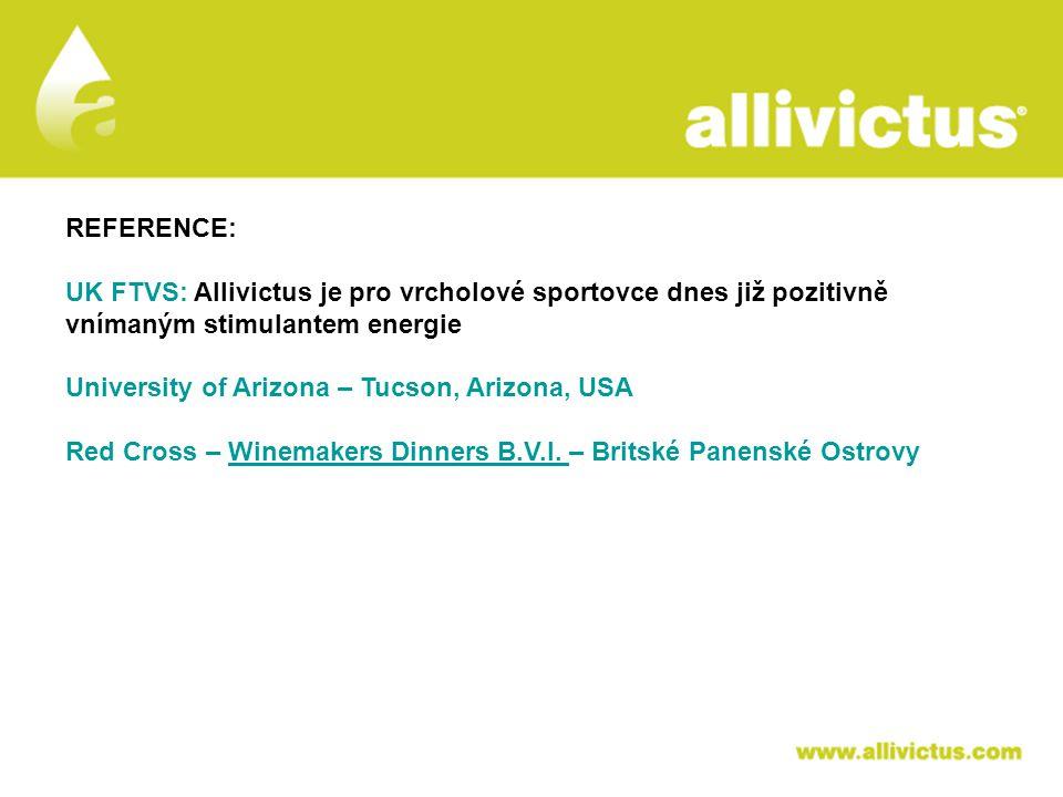 ALLIVICTUS léčivo pro vyvolené REFERENCE: