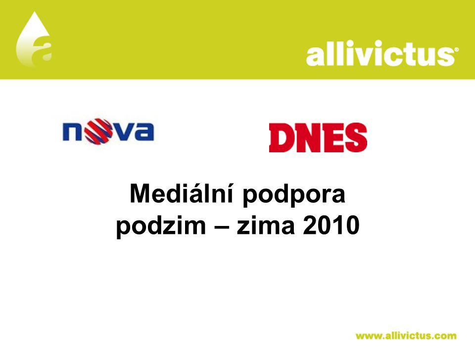 ALLIVICTUS Mediální podpora podzim – zima 2010 léčivo pro vyvolené