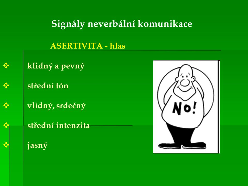 Signály neverbální komunikace