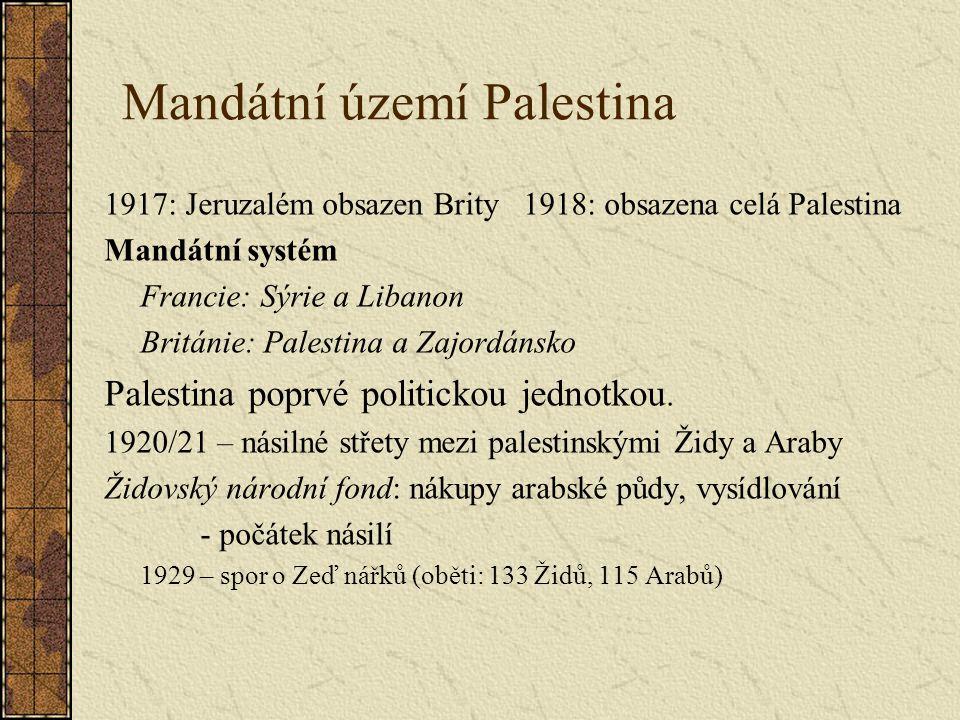 Mandátní území Palestina