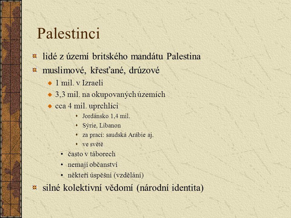 Palestinci lidé z území britského mandátu Palestina