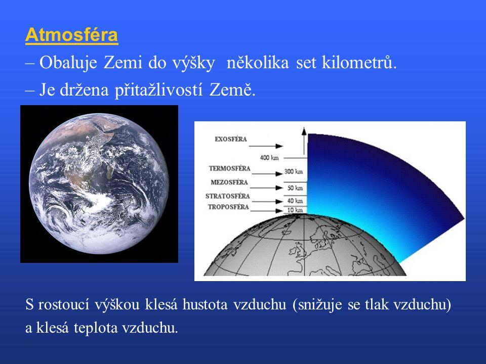 – Obaluje Zemi do výšky několika set kilometrů.