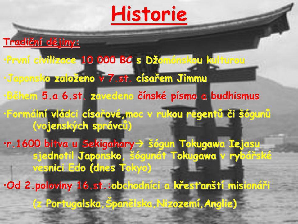Historie Tradiční dějiny: