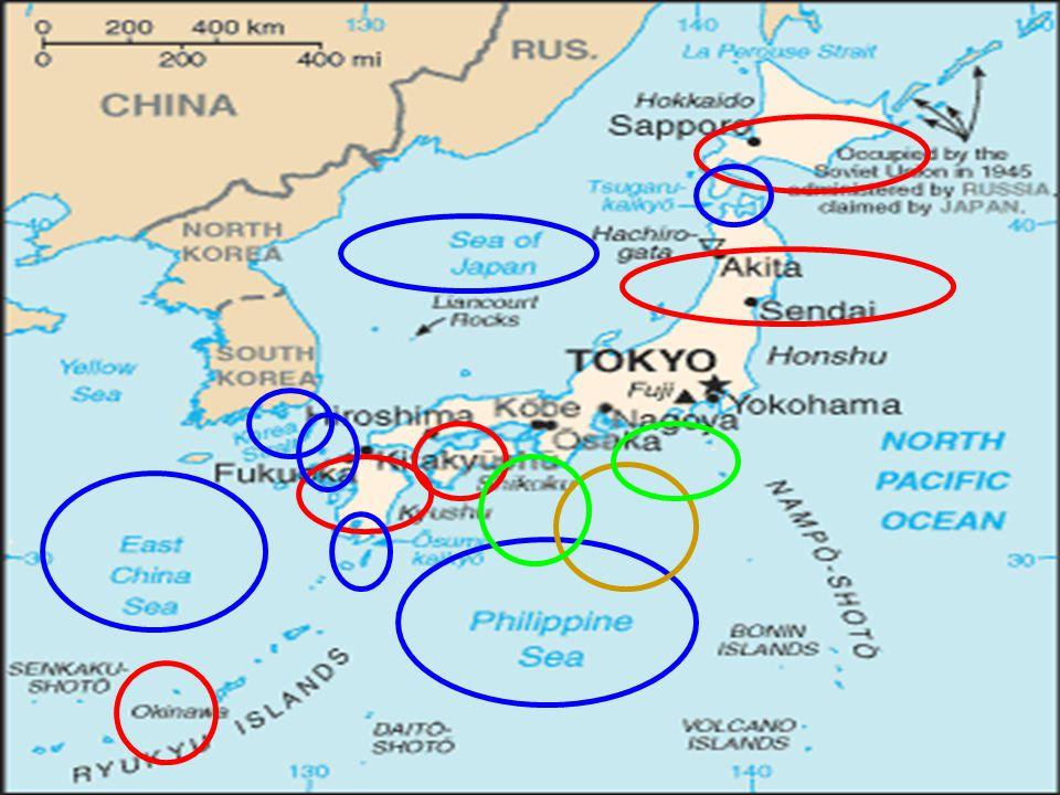 Geografie Ostrovní země -3900 ostrovů