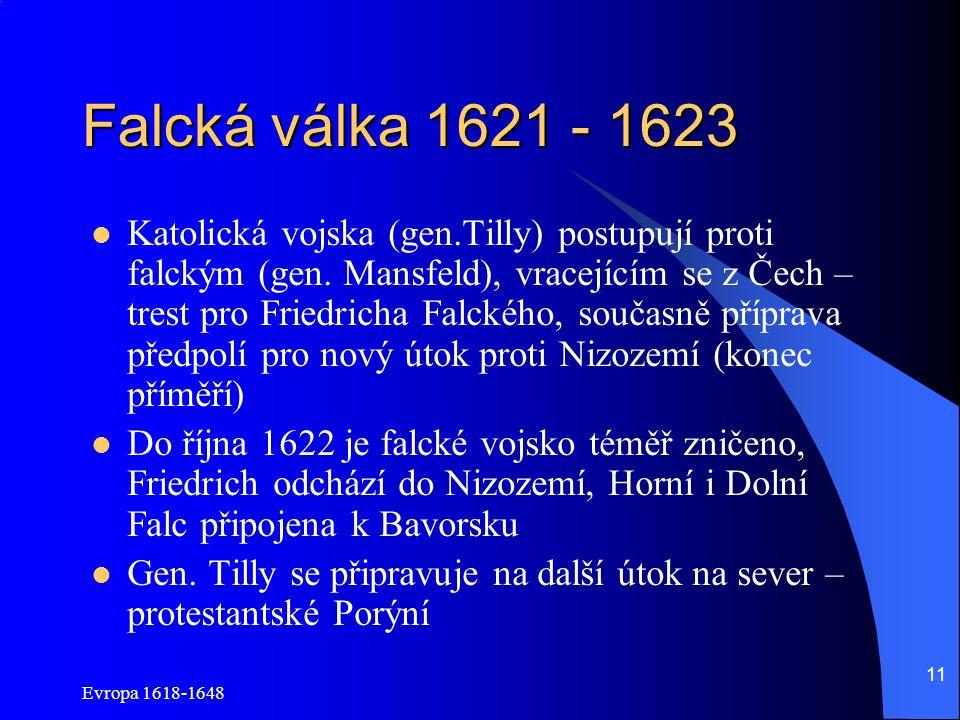 Falcká válka 1621 - 1623